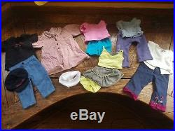 18 American Girl Doll with 86 pc clothing & accessories lot outfits, shoes Addy
