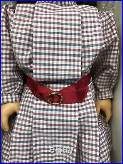 18 Pleasant Comp. American Girl Doll Samantha Meet Outfit Retired Mint In Box