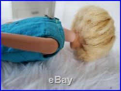 1958 AMERICAN GIRL Barbie doll Blonde original Outfit #1620 J. Designer 1950's