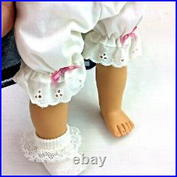 1989 Pleasant Company American Girl Samantha Doll White Body Outfits Box Germany
