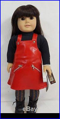 1998 Pleasant Co AMERICAN GIRL Today GT 3D Black Hair Brown Eyes w MEET Outfit