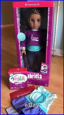 2017 Doll of the Year American Girl GABRIELA 18 with Book, Accessories, &Outfit NIB
