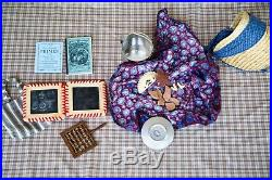 ADDY DOLL LOT PLEASANT COMPANY American Girl doll OUTFITS ACCESSORIES AND BED