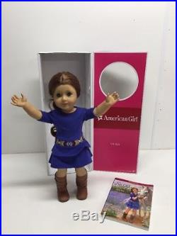 AG American Girl Doll Saige GOTY 2013 withBox Book Meet Outfit EUC