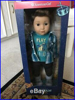 AG Logan Everett 1st Boy Doll Tenneys Band-mate NEW in Box And Perf Outfit