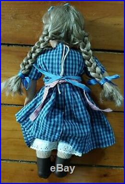 AMERICAN GIRL DOLL Historic Vintage Retired KIRSTEN 18 IN ORIGINAL OUTFIT
