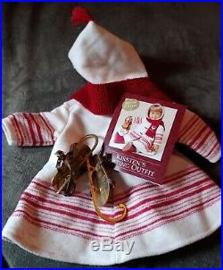 AMERICAN GIRL DOLL KIRSTEN's SKATING OUTFIT SPECIAL EDITION RARE Pleasant Co