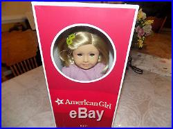 AMERICAN GIRL DOLL KIT NIB HISTORICAL DOLL RETIRED MEET OUTFIT & Paperback Book
