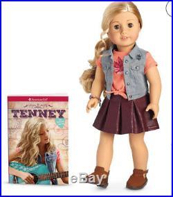 AMERICAN GIRL DOLL Set 18 TENNEY & LOGAN DOLL Guitar Outfits Book Hairbrush