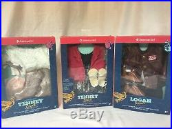 AMERICAN GIRL DOLL Tenney Grant with3 OUTFITS SPOTLIGHT, PERFORMANCE, LOGAN PRFRM