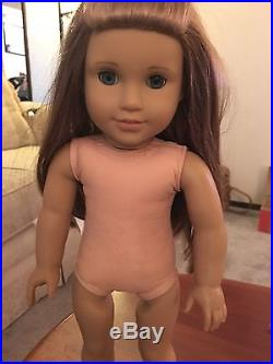 American Girl Mckenna Girl Of The Year 2012 In Meet Outfit Very Good Condition