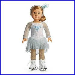AMERICAN GIRL Mia's SILVER SKATE DRESS Outfit Mia DOLL & SKATES are NOT INCLUDED