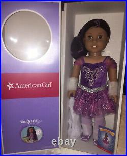 AMERICAN GIRL NUTCRACKER SUGAR PLUM FAIRY Outfit+Truly me 86 DOLL PURPLE CRYSTAL