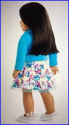 AMERICAN GIRL TRULY ME 66 Light Skin Brown Eyes Brown Hair NEW + Bonus Outfit