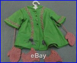 Addy American Girl doll, bed set, outfits, and books