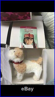 AmericanGirl MOLLY Doll Retired 18 EVERYTHING NEWithOUTFITS, MINI MOLLY, & ACCS