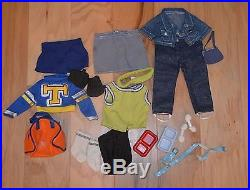 American Doll with Multiple Outfit and Accessories Collections