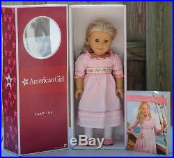 American Girl 18 Doll Caroline with Extra Outfits