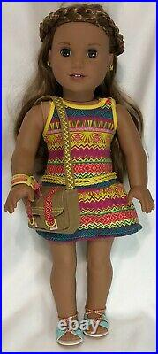 American Girl 18 Doll GOTY 2016 LEA CLARK EUC! Comes with outfit & accessories