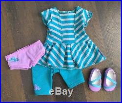 American Girl 18 Doll MCKENNA 2012 GOTY + MEET OUTFIT