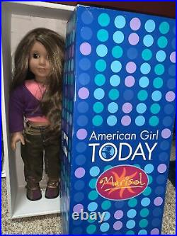 American Girl 18 Doll Marisol Luna In Meet Outfit Box Pleasant Co/2005 GOTY