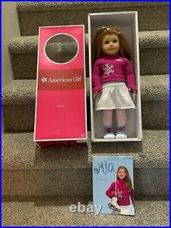 American Girl 18 Doll Retired Mia Display ONLY Complete Outfit Box