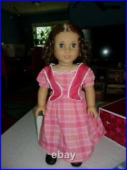 American Girl 18 Marie Grace Historical Doll in Meet Outfit with Box