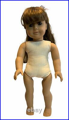 American Girl 18 Samantha 1986 Pleasant Company Retired Doll With Meet Outfit