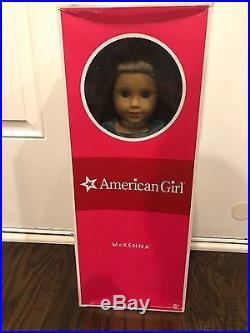 American Girl 2012 McKenna Doll Lot Box Meet Outfit Gymnastics Performance Set