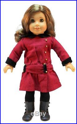 American Girl AG Rebecca Doll and original outfit 18 Adult Owned Beautiful