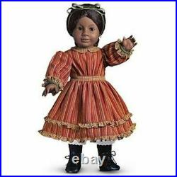 American Girl Addy's Striped Dress Outfit Brand New In Box RARE Long Retired