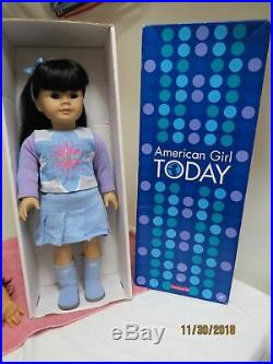 American Girl Asian MAG JLY #4 Black Hair Brown Eyes Retired Outfit & Doll HTF
