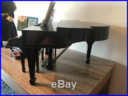 American Girl Baby Grand Piano + Doll + Recital Outfit I + Violin + Stand LOT