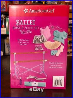 American Girl Ballet Barre And Outfit Set 15 Pieces For 18 Dolls