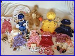 American Girl Bitty Baby Clothing Lot Outfits and Accessories