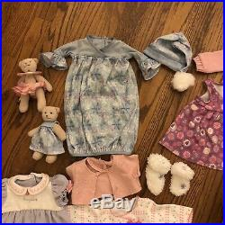 American Girl Bitty Baby Doll Twins Babies Blonde Hair Blue Eye Clothes Outfits