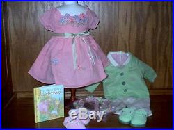 American Girl Bitty Twins RETIRED Sunday Best Easter Outfits NIB New in Box