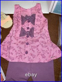 American Girl Blaire Doll Accessories Floral Flair Outfit Book All New