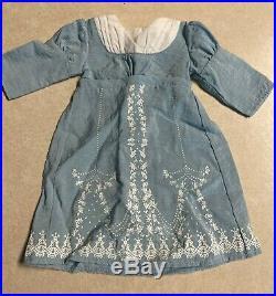 American Girl CAROLINE Birthday Outfit+Travel Dress+Winter Coat Hat RETIRED EUC