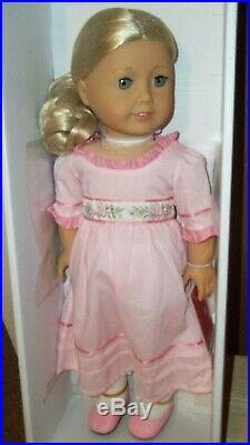American Girl Caroline 18 Doll Meet Outfit Nrfb