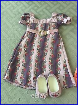 American Girl Caroline Doll Historical Retired Blonde PJs Outfits Accessories