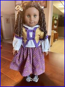 American Girl Cecile & Marie Grace Dolls Plus Parlor Outfit