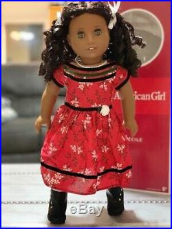 American Girl Cecile Rey Retired Historical Doll In box with Book, 2 outfits