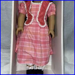 American Girl Cecile and Marie Grace on box With Cecile Outfit