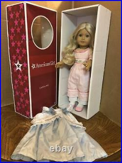 American Girl Classic Caroline In Full Meet With Box & Extra Outfit EUC RETIRED
