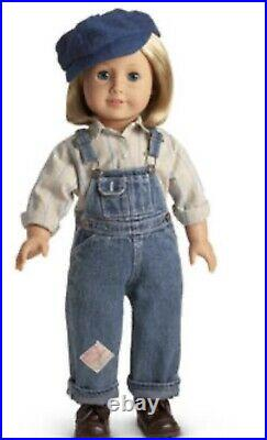 American Girl Collection Kit Overalls Hobo Outfit Retired RARE EUC