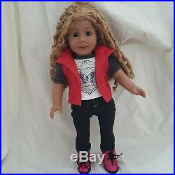 American Girl Create Your Own Doll With Let's Explore Outfit & Accessories
