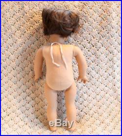 American Girl Custom Boy Doll Chocolate Brown Hair, Green Eyes & 5 Pc Outfit