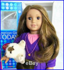 American Girl DOLL MARISOL + MEET OUTFIT & ACCESSORIES Cat Hat Necklace TAG BOX