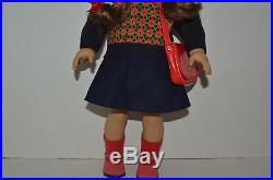 American Girl DollMolly In Meet OutfitGlasses Case Purse ShoesOriginal Box